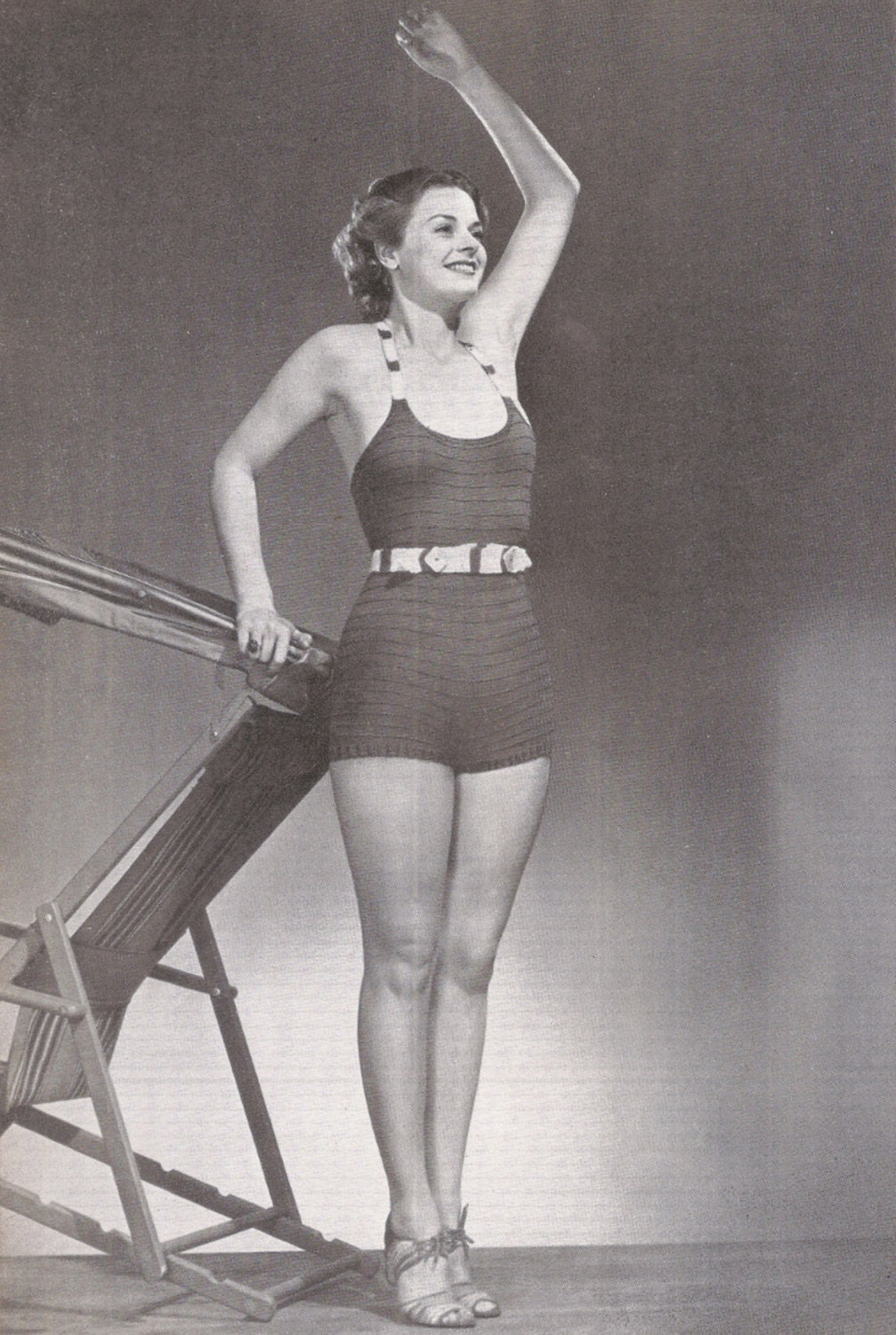 1930s Knitted Bathing Suit Pattern Womens by ChangesPast