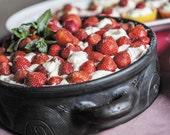 Strawberries Cake postcards