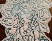 Medusa patch,goddess, mythical