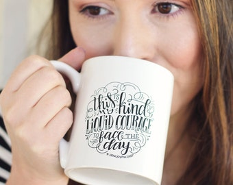 Mug - This is my kind of liquid courage to face the day