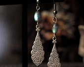 """Ghostly Realm Earrings 2 1/2"""""""