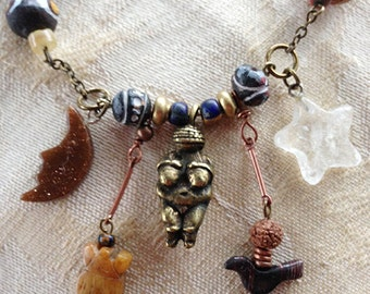 stars and moon  POWER NECKLACE