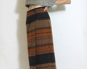 Boxy Knit Sweater Crop Top Vintage 80s 90s Neutral Sweater Vest