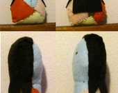Sale - Hand Sewn Sally from the Nightmare Before Christmas Felt Plushie - Sale