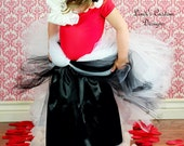 Black Polyester Satin Tutu Half Slip for Underneath Tulle Coverage for Girls, Weddings, Bridal, Pageants