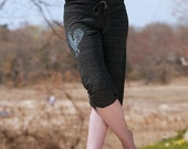 ra ra Rooster Pants, Chicken Pants, Maternity Pants, Workout Capris, S,M,L,XL