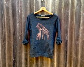 me and mama Giraffe Sweater, Giraffe Shirt, Gift for Mom, S,M,L,XL,2XL