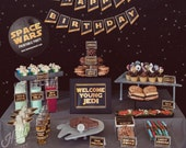 Star Wars Party Set - INSTANT DOWNLOAD - Birthday Party Printable Decorations