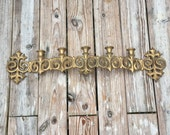 Candle Sconce Gold Gothic Candle Holder
