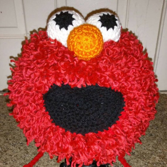 Crochet Elmo Hat