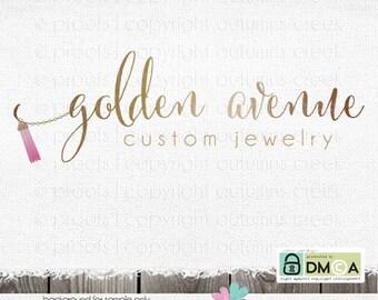 jewelry logo necklace logo premade logo premade logo designs logos logos and watermarks bird logo tassel logo gold logo jewelry logo