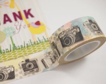 Camera Washi Tape (20mm X 5M)