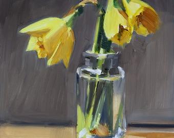 Opening Daffodils
