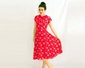 I'm a Norbyah Handpicked Bright Pink Printed Check Dress