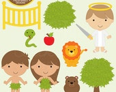 bible characters clipart clip art christian religious - Adam and Eve Clip Art