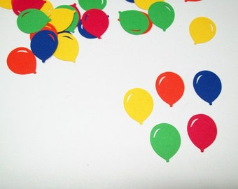 Balloon Confetti/ Happy Birthday/ Decoraitng/ Party Supplies/ 100 Pieces
