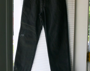 mens black jeans  pants size 36 x30