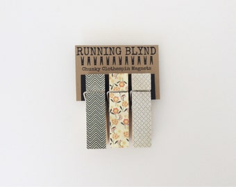 Magnet Clothespins. Large Clothespins. Chunky Clothespins. Fridge Magnets. Party Favors. Photo Clips. Gifts for Her.