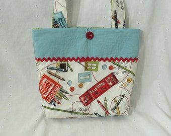 Personalized Tote- I Heart Art