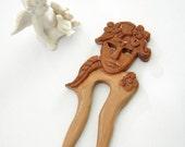 Venice mask hair fork midsumer dream hair fork