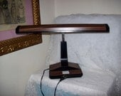 Vintage 1970s Portable Drafting Table Gooseneck Desk Lamp by Underwriters Laboratories Only 9 USD