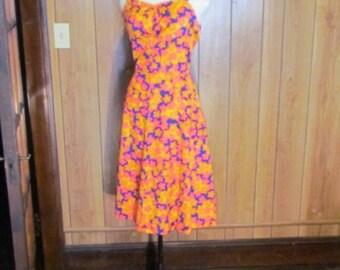 On Sale-Retro FLORAL Print SUN DRESS