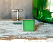 Jameson Whiskey Recycled Pewter Cuff Links | Mens Jewelry | Gifts for Him