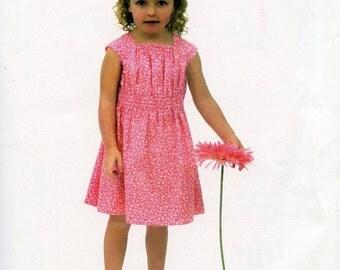Juliet Pattern / Girls Dress Pattern / Easy Pattern /  Children's Corner  #278