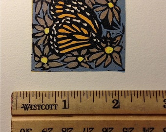 Monarch Butterfly Mini Print