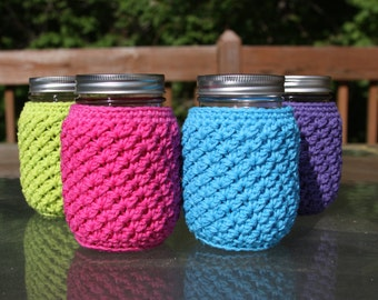 Mason Jar Cozy - Made to Order