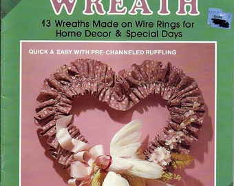 Ring Around a Wreath Pattern Book by Plaid 8296