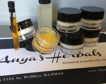 Organic Skincare Samplers Set, Anya's Herbals