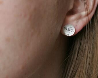 Wife Earrings