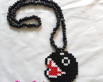 Chain Chomp Nintendo Kandi Necklace