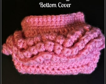 Newborn Ruffle Bottom Diaper Cover