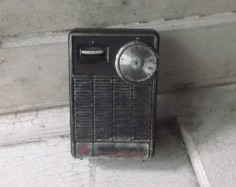 Radio, Transistor Radio, Vintage Radio, Radios, 1960s, 1970s, Mad Men, Music, Prop, Props, All Vintage Man