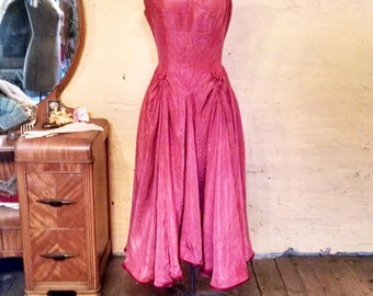 Gorgeous Rose Pink Ball Gown S