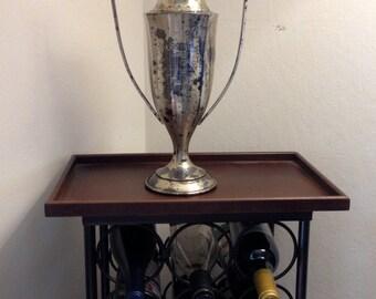 ANTIQUE TROPHY - HUGE Gold Vintage Loving Cup - Over 90 Years Old