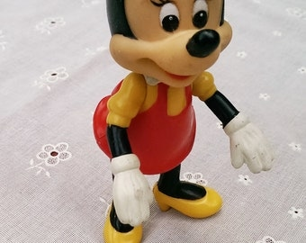 Vintage Poseable Minnie- Walt Disney Productions Made in Hong Kong