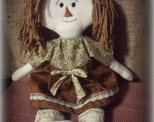 Little Primitive Rag Doll