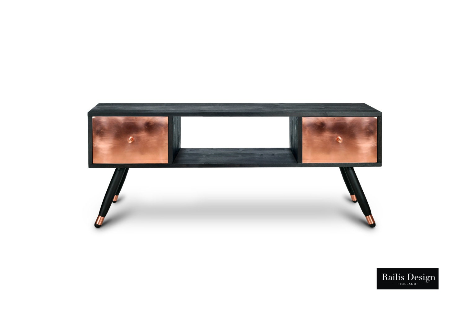 tv table krafla entertainment unit solid wood furniture. Black Bedroom Furniture Sets. Home Design Ideas