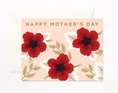 Wildflowers Happy Mother's Day Card