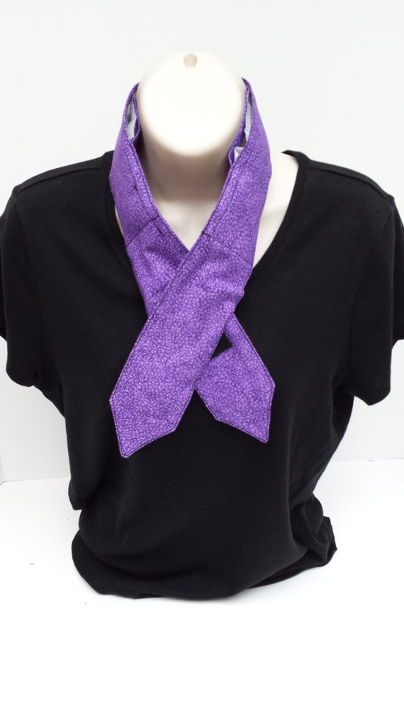 Cooling Neck Scarf : Purple neck cooler scarf reusable cool