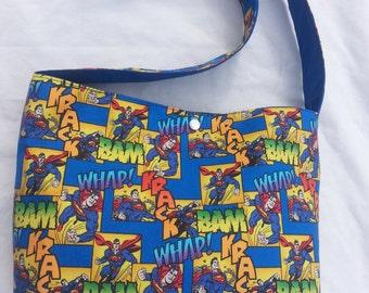 Superman DC Comic Purse Bag Pocketbook