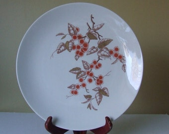 "Franciscan China Palo Alto Pattern 10"" Dinner Plate - 1950-52"