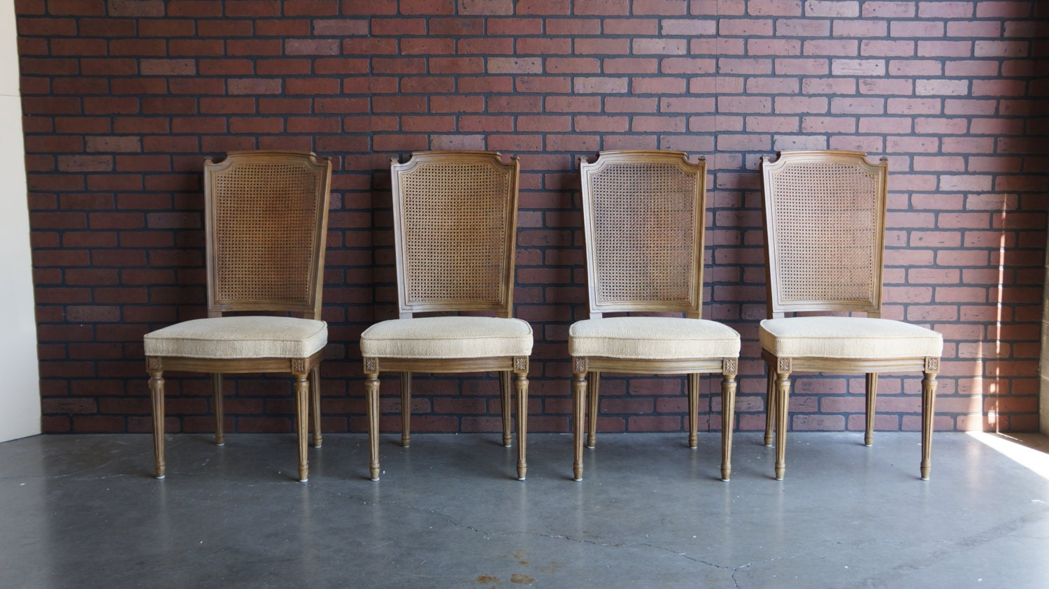 Henredon Dining Chairs / French Regency Dining Chairs / Dining