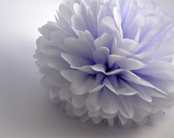 One Mist Tissue paper Pom Poms // Wedding Decorations // Party Decorations // Pom Poms