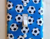Soccer Dreams Single Toggle Switchplate, Switch Plate