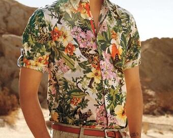 Vintage Hawaiian Shirts/All Sizes/Mens/Womens/short sleeve