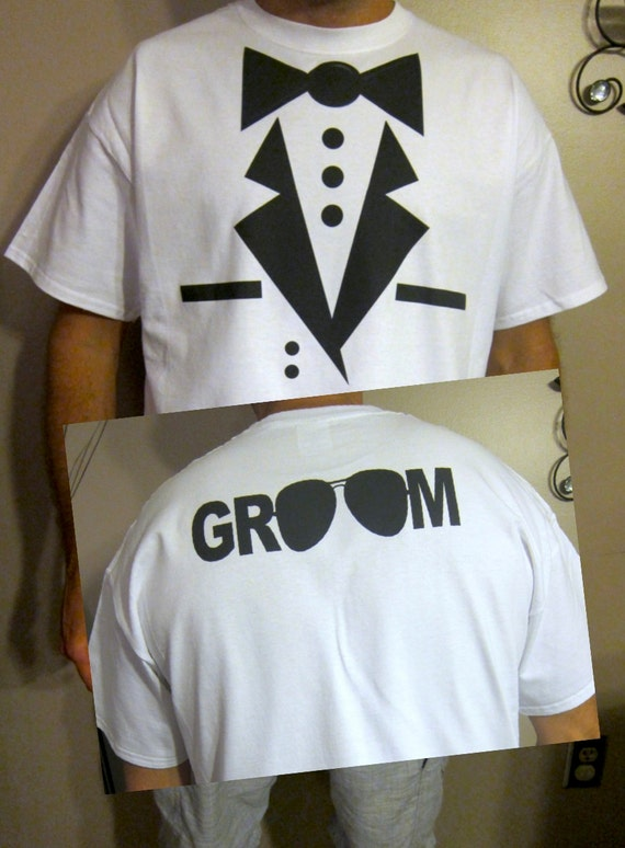 Wedding Gift For Groom From Best Man : TUXEDO WEDDING SHIRT for Groom Best Man Groomsman wedding gift getting ...